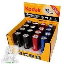 Kodak Elemlámpa 9 x LED (+3AAA) több színben