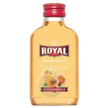 Royal Vodka Sárgabarack 0,1l 30%