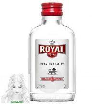 Royal vodka 0,1 l bodza