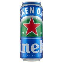 Heineken alkoholmentes Lager sör 0,5 l doboz