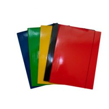 Gumis mappa FORNAX Glossy karton A/4 400 gr,fekete