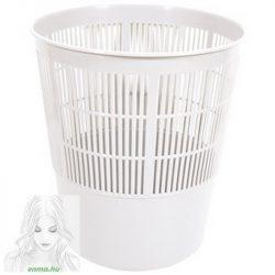 Papírkosár FORNAX műanyag rácsos, 16 literes, szürke