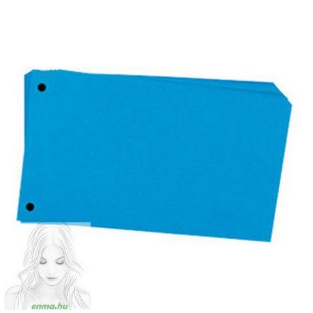 Elválasztó lap FORNAX 10,5x24cm kék 100db