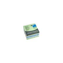 Jegyzettömb GLN öntapadós, 75x75 mm, 450 lap, pasztell színek (zöld árnyalatok)