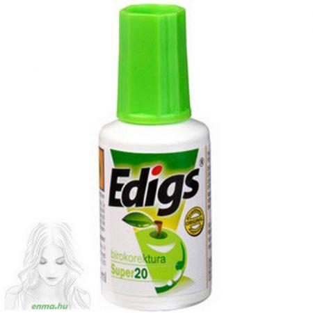 """Hibajavító folyadék EDIGS Ekofluid Super 20 ml """" Zöldalma"""""""
