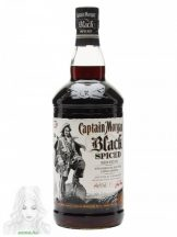 CAPTAIN MORGAN BLACK SPICED RUM 1L 40%