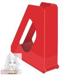 "Iratpapucs, műanyag, 68 mm, ESSELTE ""Europost"", Vivida piros"