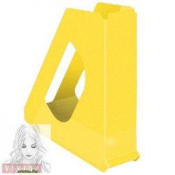 "Iratpapucs, műanyag, 68 mm, ESSELTE ""Europost"", Vivida sárga"