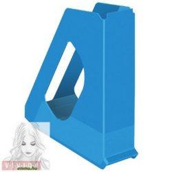"""Iratpapucs, műanyag, 68 mm, ESSELTE """"Europost"""", Vivida kék"""