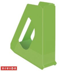 """Iratpapucs, műanyag, 68 mm, ESSELTE """"Europost"""", Vivida zöld"""