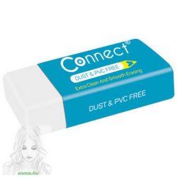 Radír CONNECT fehér (39x17x12mm) 36db/ kínáló doboz