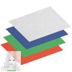 Spirál hátlap TREND A/4 230gr 1/100 matt (bőrhatású) kék
