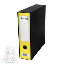 Iratrendező FORNAX Prestige tokos A4 80 mm sárga