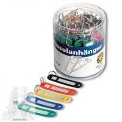Kulcstartó címke OFFICE POINT műanyag, 50db/doboz