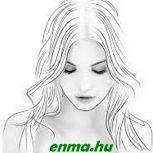 Füzet ELISA A/4 40 lap 80gr papír, 300gr borító, kockás, SMILE