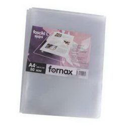 Genotherm FORNAX A/4  90 micron víztiszta, felül-oldalt nyitható, 50 db/csomag