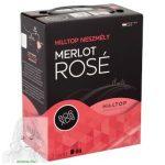 Hilltop Bor-Box Neszmély Felső-Magyarországi Merlot rosé bor 12,5% 3 l